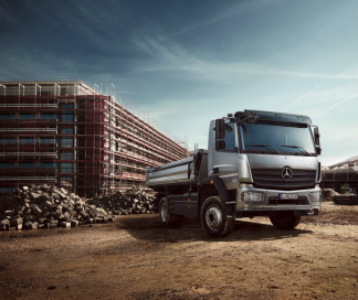 Mercedes-Benz leasing voor trucks