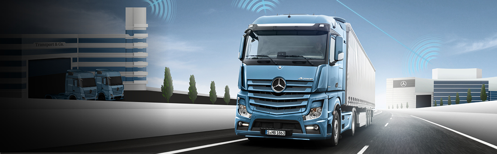 Mercedes-Benz Uptime voor trucks
