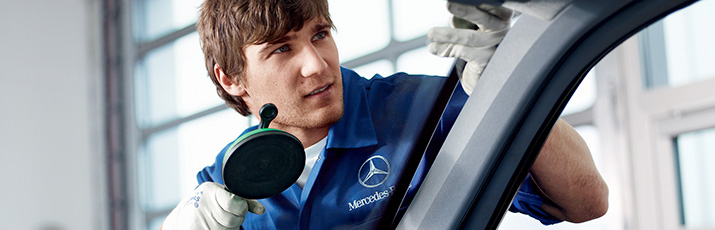 Mercedes-Benz SmallRepair bedrijfsauto's