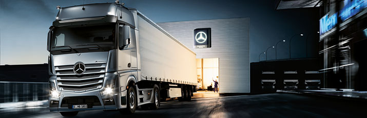 Langeafstandstransport mercedes benz truck center sint for Mercedes benz truck financial