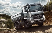 Le nouvel Arocs chantier Mercedes-Benz