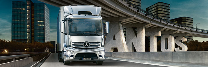 Camions Mercedes-Benz pour ramassage-distribution